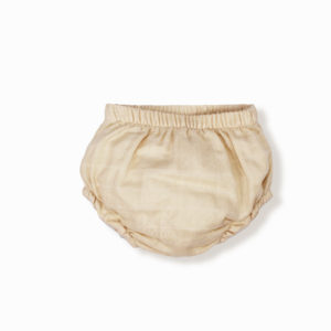 Henri bloomer beige clair coton bio bébé enfant newborn made in france organic cotton - Lebôme