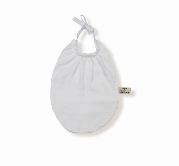 James bavoir blanc coton bio bébé enfant newborn made in france organic cotton - Lebôme