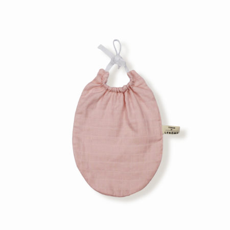 James bavoir rose poudre coton bio bébé enfant newborn made in france organic cotton - Lebôme
