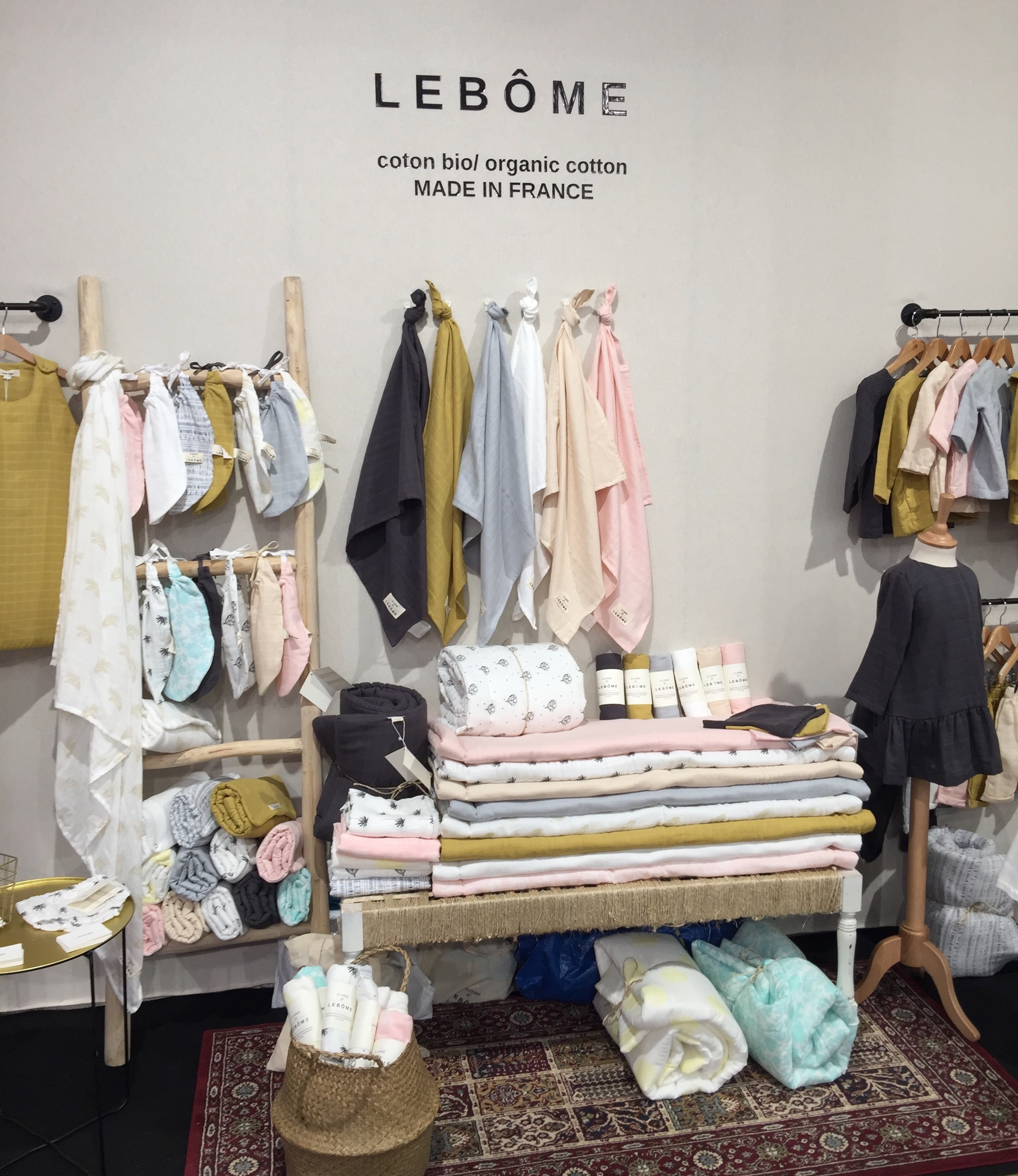 lebôme playtime paris salon professionel coton bio prganic cotton